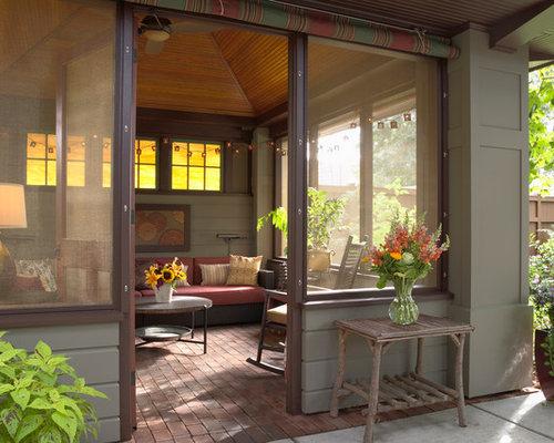Ideas para terrazas dise os de terrazas de estilo for Porche americano