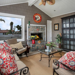 traditional porch by Darci Goodman Design