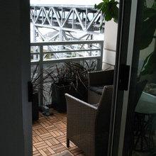 balconies/rooftops