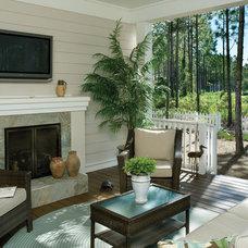 Tropical Porch by Arthur Rutenberg Homes