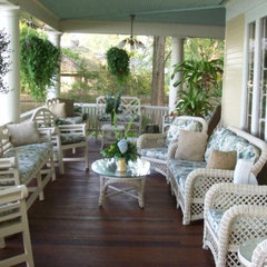 traditional porch by Sandra Meyers Snabl