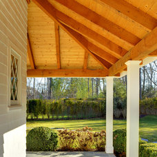 Traditional Porch by Yankee Barn Homes