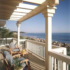 Beach Style Porch by Lafia/Arvin, A Design Corporation