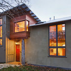 Vine Hill Road Straw Bale Residence Contemporary Entry