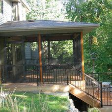 Porch by Krogstad Construction Inc.