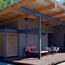 Modern Porch by Nicholas Design Collaborative