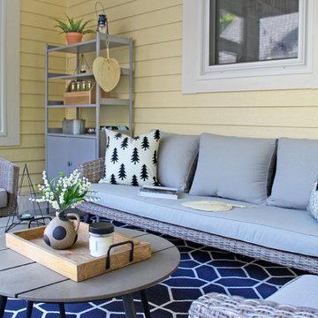Scandinavian Cottage Summer House