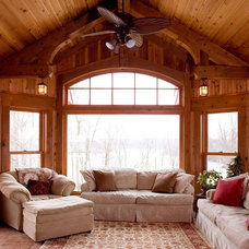 Traditional Porch by Murphy & Co. Design