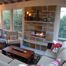 Traditional Porch by Fein Design