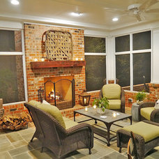 Traditional Porch by Houghland Architecture, Inc.
