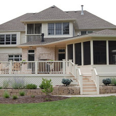 Traditional Porch by Gettum Associates Inc