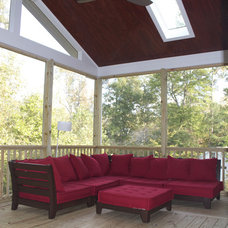 Traditional Porch by Collins Design-Build, Inc.