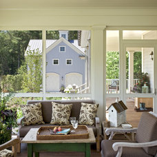 farmhouse porch by Crisp Architects