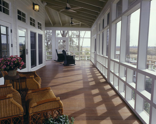 Best Large Screened-In Porch Design Ideas & Remodel Pictures | Houzz