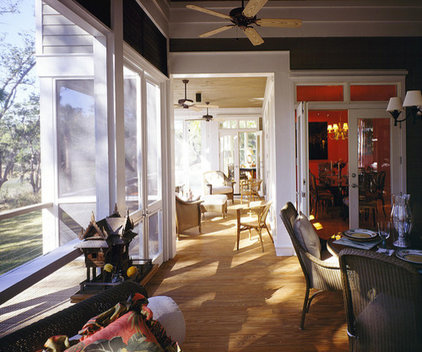 Porch by Frederick + Frederick Architects