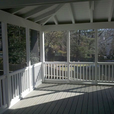 Contemporary Porch by Wayne Barber