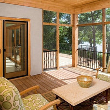 Contemporary Porch by Stonewood, LLC