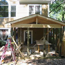 Traditional Porch by VV Contracting, Inc