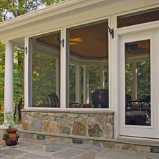 Traditional Porch by Winn Design & Remodeling