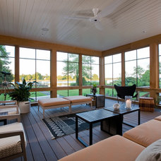 Contemporary Porch by Studio Santalla, Inc