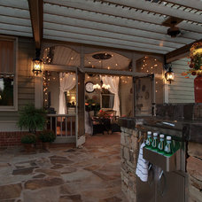 Traditional Porch by Atlanta Decking & Fence Co., Inc.