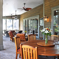 Traditional Porch by Hansen Architects, P.C.