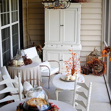 Traditional Porch screened in porch