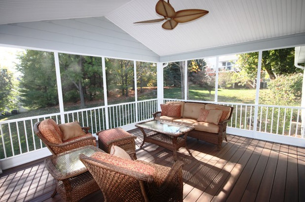 Traditional Porch by Liston Design Build