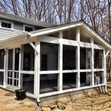 Traditional Porch by Sapia Builders Corp.