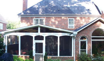 Screened In Porch with arched openings