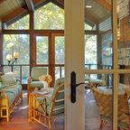 Le Chalet Vert Traditional Porch Raleigh By