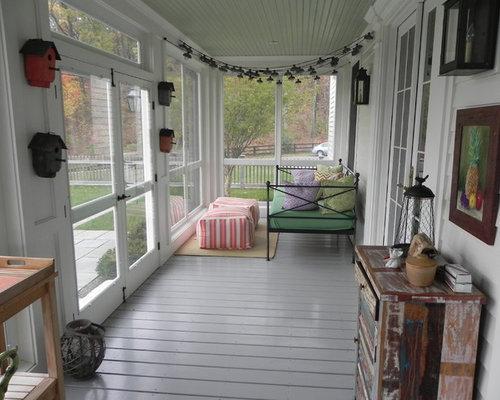 Narrow Screen Porch Ideas
