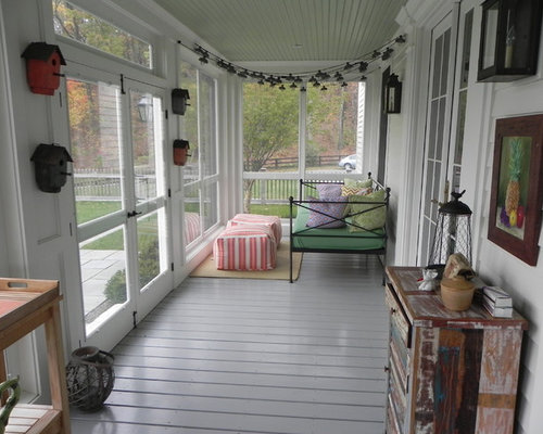 Narrow porch ideas pictures remodel and decor - Narrow porch decorating ideas ...