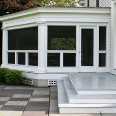 Traditional Porch by New Dimension Construction Inc.