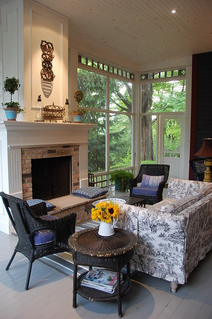 Traditional Porch by Alexander Design