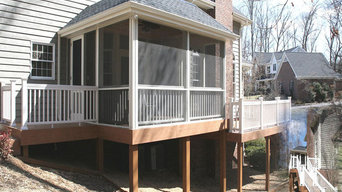 Screened Porch and Deck Addition