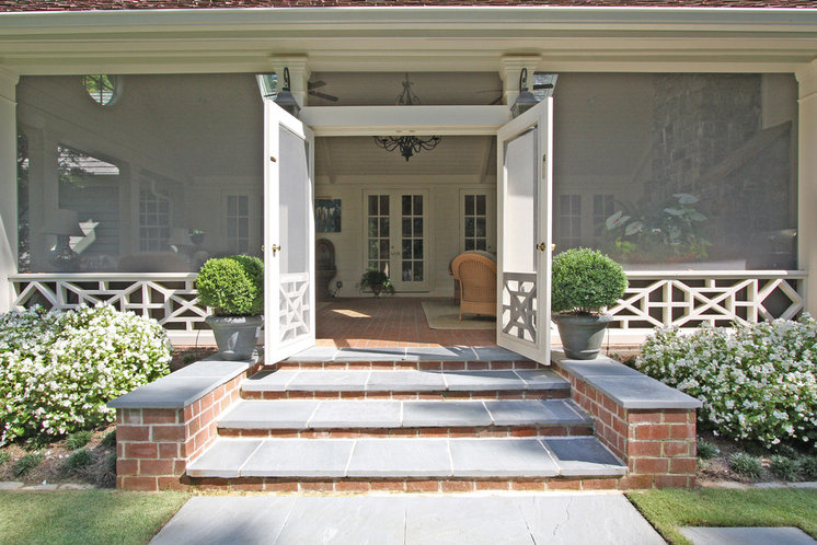 Traditional Porch by Georgia Contractor Group