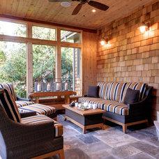 Contemporary Porch by Black Tusk Development Group Ltd.