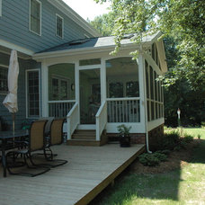 Traditional Porch by Blue Ribbon Residential Construction, Inc.