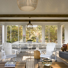 Beach Style Sunroom by Ike Kligerman Barkley