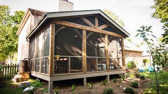 Screened Porch in Franklin