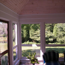 Traditional Porch by By Design