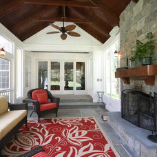 Traditional Porch by Robert Nehrebecky AIA, Re:New Architecture