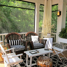 traditional porch by Your Favorite Room By Cathy Zaeske