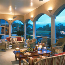Traditional Porch by The Evans Group