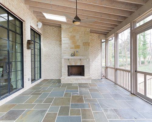 Cedar Screened Porch Home Design Ideas Pictures Remodel