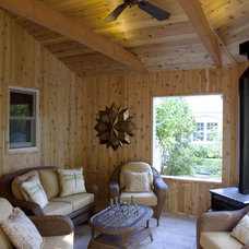 Traditional Porch by Wade Design & Construction Inc