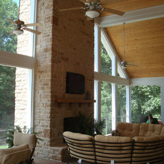 contemporary porch by John Bynum