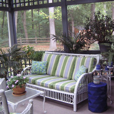 Eclectic Porch by EASYdesigns