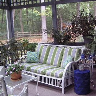 Design ideas for a bohemian veranda in Philadelphia.